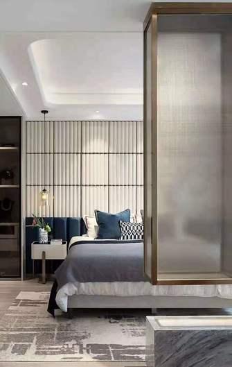 140平米三轻奢风格客厅装修案例