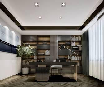 富裕型130平米复式轻奢风格书房装修案例