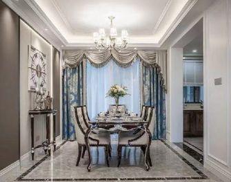 豪华型120平米四欧式风格餐厅装修案例