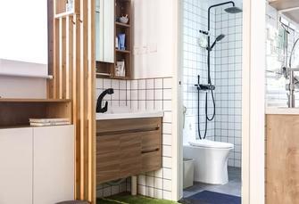 豪华型40平米小户型日式风格卫生间装修案例