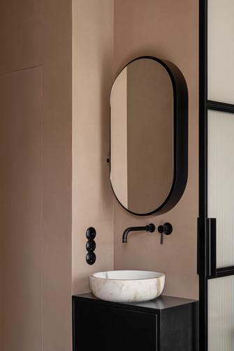 50平米公寓新古典风格卫生间图
