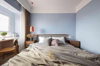 3万以下80平米北欧风格卧室图片大全
