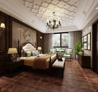 140平米别墅欧式风格卧室装修案例