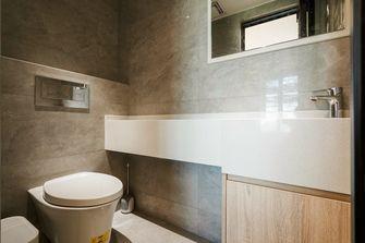 豪华型90平米三室三厅日式风格卫生间装修图片大全
