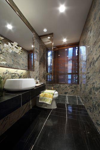 豪华型130平米三室一厅北欧风格卫生间装修案例