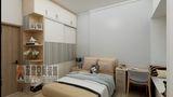 3-5万80平米三室两厅现代简约风格卧室装修图片大全