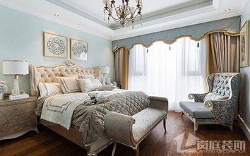 豪华型130平米四室两厅欧式风格卧室装修图片大全