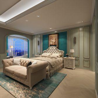 20万以上140平米四室一厅法式风格卧室欣赏图
