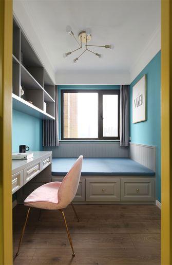 80平米三室一厅北欧风格书房图片