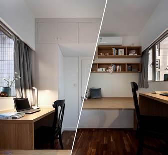 豪华型120平米三室两厅美式风格书房欣赏图