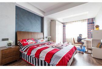 复式北欧风格青少年房设计图