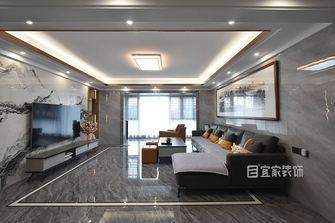 富裕型140平米中式风格客厅图