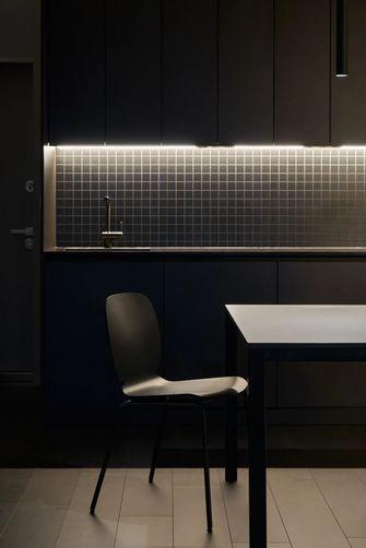 富裕型50平米小户型工业风风格餐厅设计图