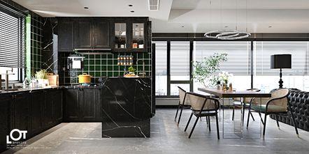 经济型140平米三室一厅新古典风格厨房图片大全