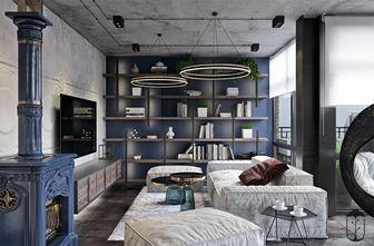 3万以下140平米别墅工业风风格客厅装修案例
