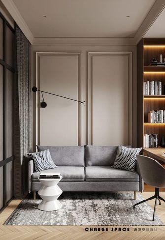 富裕型60平米新古典风格书房装修图片大全
