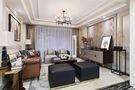100平米三室一厅英伦风格客厅欣赏图