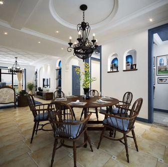 100平米地中海风格餐厅装修图片大全