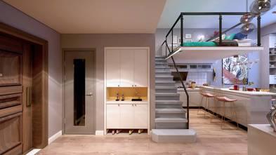60平米一居室混搭风格卫生间设计图