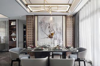 15-20万120平米三室两厅中式风格餐厅装修案例