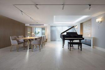 130平米三混搭风格餐厅设计图