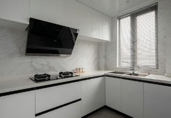 富裕型120平米三室两厅美式风格厨房效果图