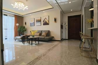 10-15万90平米三室两厅现代简约风格走廊装修图片大全