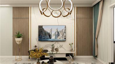 经济型60平米一室一厅北欧风格客厅效果图