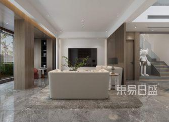 富裕型140平米四室一厅现代简约风格客厅图片