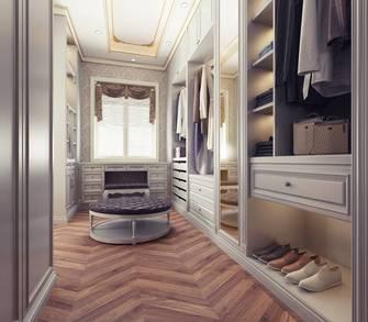 20万以上140平米别墅欧式风格衣帽间欣赏图