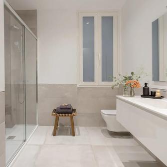 140平米四法式风格卫生间设计图