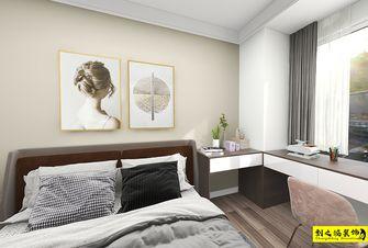 富裕型120平米三室两厅现代简约风格卧室图片