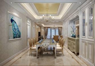 豪华型140平米四室两厅欧式风格餐厅装修图片大全