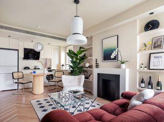 富裕型60平米一室两厅北欧风格客厅欣赏图