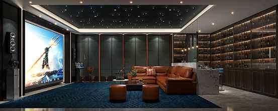 20万以上140平米别墅欧式风格影音室欣赏图