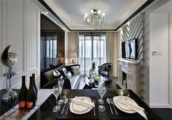 富裕型70平米一室一厅欧式风格餐厅图片