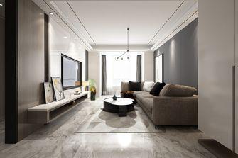 3万以下120平米三现代简约风格客厅设计图