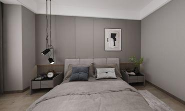 140平米三室三厅现代简约风格卧室图片