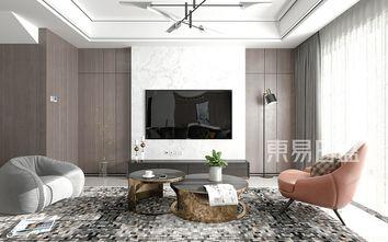 20万以上140平米复式现代简约风格客厅装修效果图