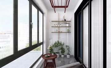 富裕型120平米三室一厅中式风格阳台欣赏图