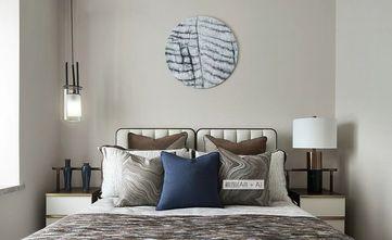经济型100平米三室一厅中式风格卧室欣赏图