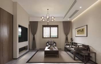 20万以上80平米一居室中式风格客厅设计图