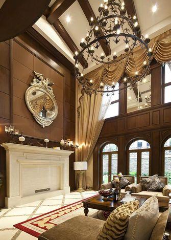140平米三室一厅欧式风格客厅欣赏图