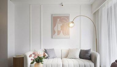 5-10万90平米三法式风格客厅装修效果图