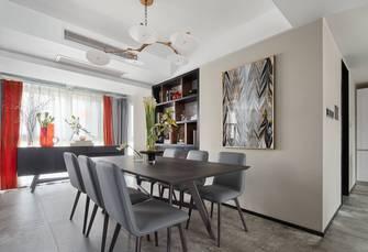 豪华型140平米三室一厅现代简约风格餐厅效果图