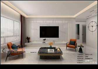 120平米四室四厅现代简约风格客厅装修案例