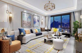 经济型140平米复式轻奢风格客厅装修案例
