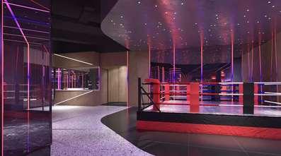 140平米美式风格健身房装修图片大全