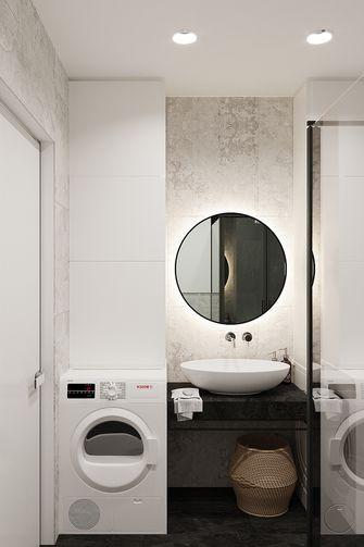 70平米一居室现代简约风格卫生间装修图片大全