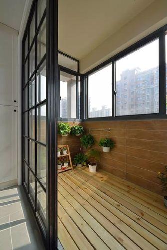 5-10万100平米三室一厅现代简约风格阳台图片